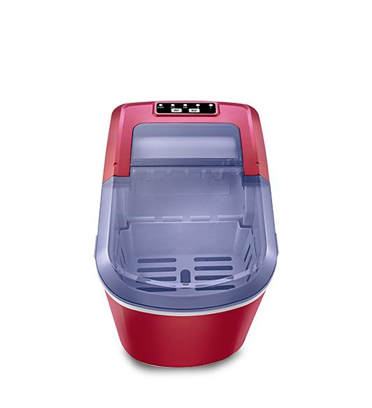 Maquina de hielo HZB-12A Gran ventana roja